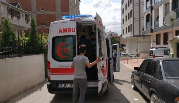Gebze'de kamyonetin çarptığı çocuk yaralandı
