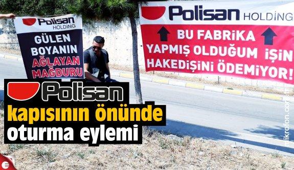 Polisan'ın önünde oturma eylemi