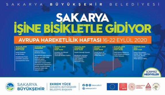 """Sakarya'da """"Avrupa Hareketlilik Haftası"""" etkinliklerle kutlanacak"""