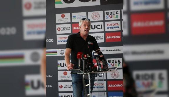 2020 Dünya Dağ Bisikleti Maraton Şampiyonası'nın basın toplantısı yapıldı