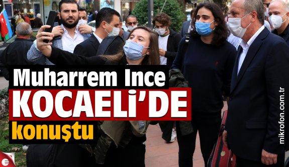 Eski CHP Milletvekili Muharrem İnce, Kocaeli'de açıklamalarda bulundu: