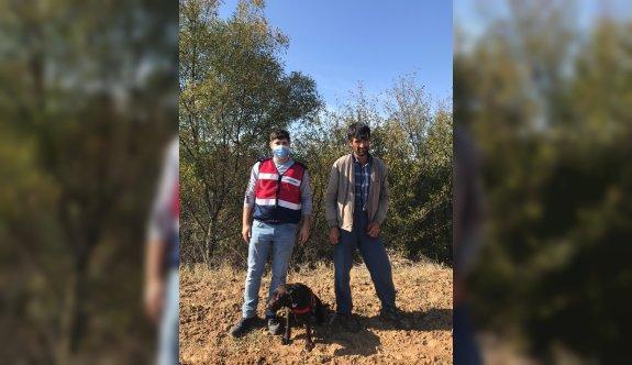 Tekirdağ'da kayıp ihbarı yapılan kişiyi jandarma timleri buldu