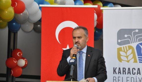 AK Parti Genel Başkan Yardımcısı Özhaseki, Bursa'da konuştu: