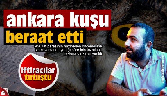 Ankara Kuşu Oktay Yaşar beraat etti