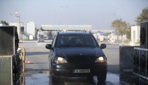 Bulgaristan'dan gelenler Edirne'deki koronavirüs önlemlerine hayran kaldı