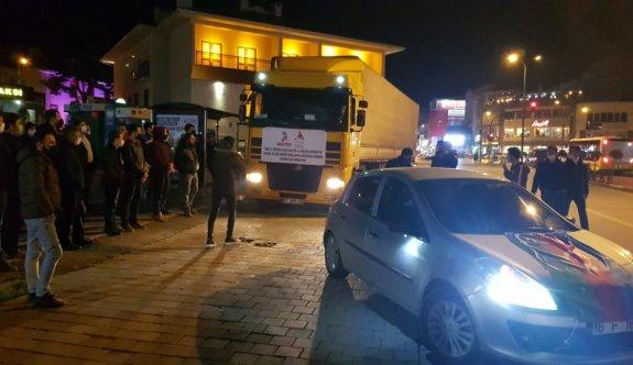 Ermenistan'ın saldırılarında evleri yıkılan Azerbaycanlıların mobilyaları İnegöl'den