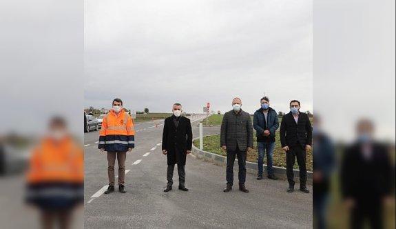 Kırklareli-Edirne arasındaki bölünmüş yol çalışmaları devam ediyor