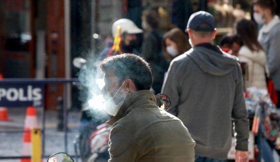 Kırklareli'nde sigara yasağı ve maske denetimi yapıldı