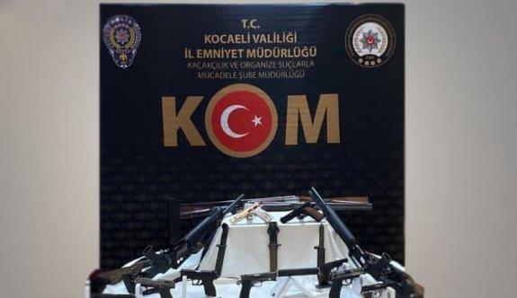 Kocaeli merkezli silah kaçakçılığı operasyonunda 2 kişi tutuklandı