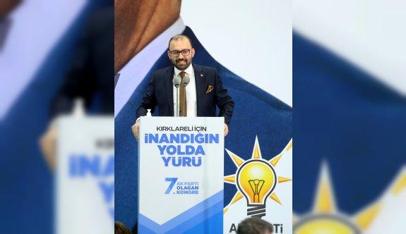 AK Parti Genel Başkan Yardımcısı Usta, partisinin Kırklareli İl Kongresi'nde konuştu: