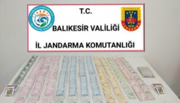 Balıkesir'de Kovid-19 tedbirlerini ihlal eden ve kumar oynayan 17 kişiye 86 bin lira ceza