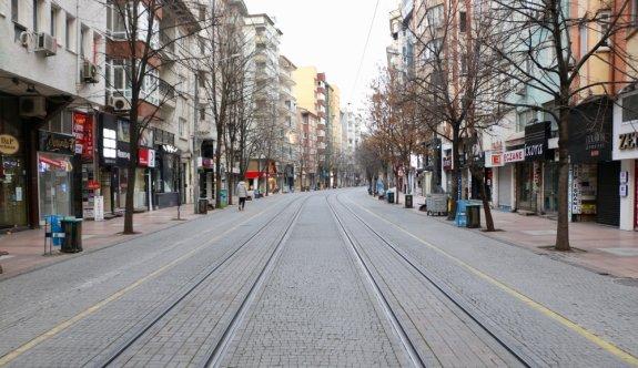 Bursa ve çevresinde sokağa çıkma kısıtlamasına riayet ediliyor