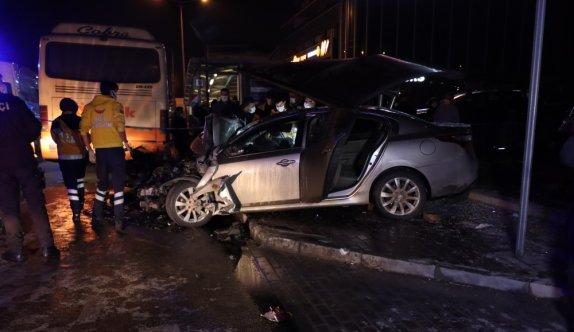 Bursa'da kısıtlamaya uymayıp gezintiye çıkan 5 kişi kaza yaptı: 1 ölü