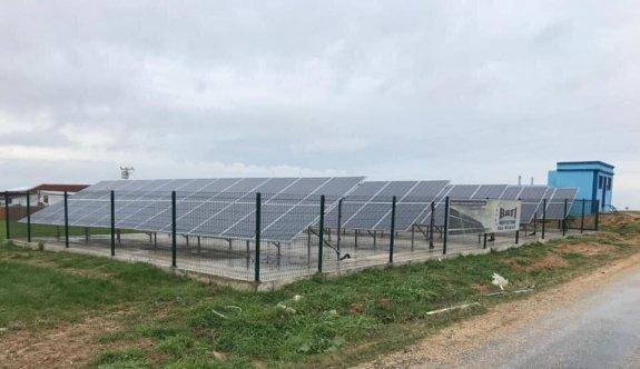 Edirne'de köylerdeki içme suyu kuyularında ihtiyaç duyulan enerji güneşten sağlanacak