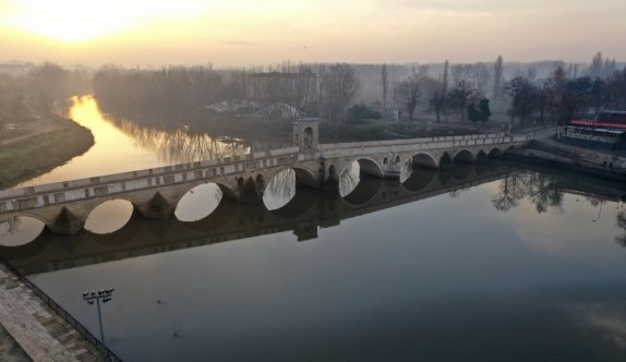 Edirne'deki aralık ayı yağışları nehir debilerini 3 kat artırdı