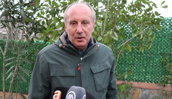 Eski CHP Milletvekili Muharrem İnce, Yalova'da gazetecilerin sorularını yanıtladı: