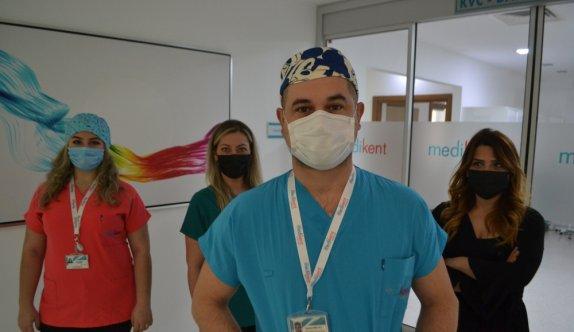 Kırklareli'nde sağlık çalışanları dans ederek aşılanmanın önemine dikkati çekti