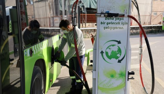 Kocaeli'de doğal gazlı otobüslerle 1 yılda yaklaşık 30 milyon lira tasarruf sağlandı
