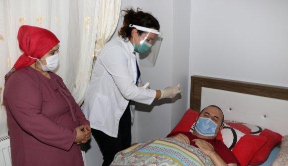Kocaeli'de refakatçiler yatalak ve bakıma muhtaç hastalarına daha iyi bakacak