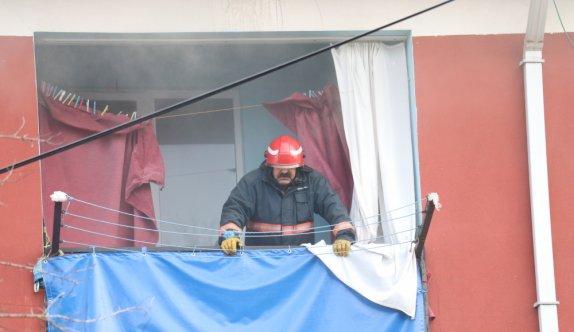 Sakarya'da bir binanın garajında çıkan yangın söndürüldü