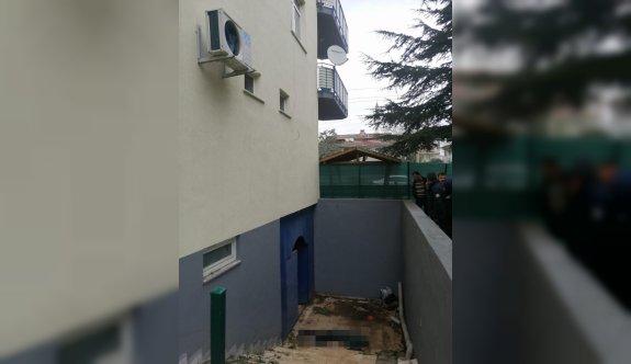 Tekirdağ'da polis merkezinin penceresinden kaçmaya çalışan şüpheli yaralandı