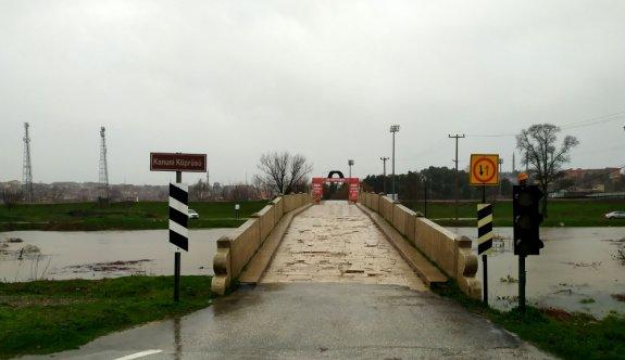 Tunca Nehri için alarm seviyesi