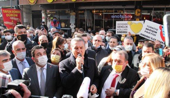 Türkiye Değişim Partisi Genel Başkanı Sarıgül'den gençlere davet