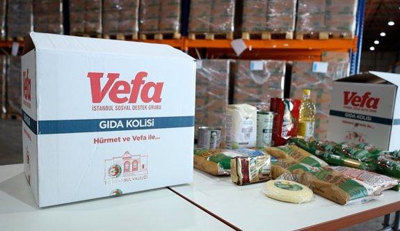 Vali Yerlikaya gıda kolisi dağıtımı kapsamında aileleri ziyaret etti: