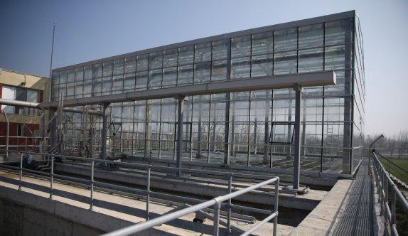Balıkesir'de atık su arıtma tesisinde yetiştirilecek bitkiler kent estetiğinde kullanılacak