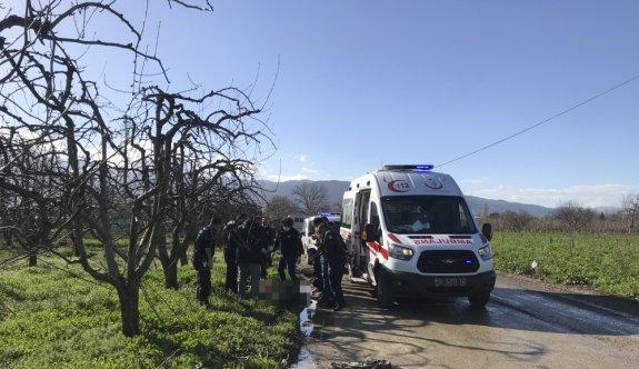 Bursa'da bir kişi yol kenarında tabancayla öldürülmüş bulundu