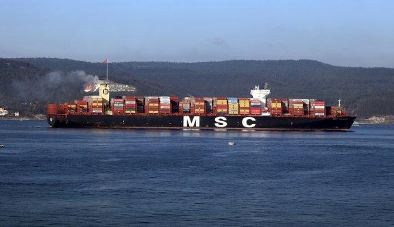 Dev konteyner gemisi