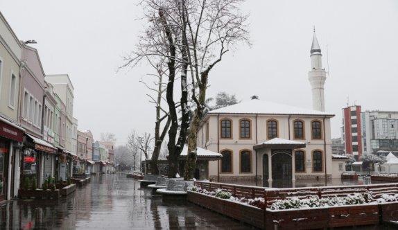 Doğu Marmara ve Batı Karadeniz'de kar etkili oluyor