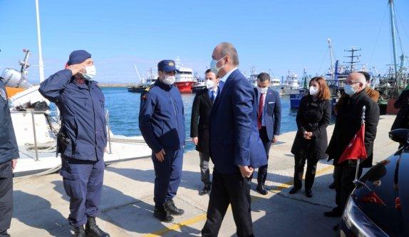 Edirne'nin Enez Limanı'na gümrük kuruluyor