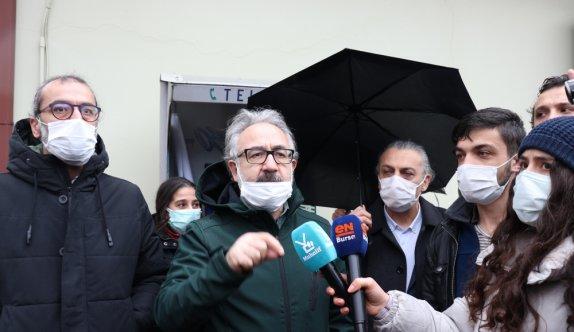GÜNCELLEME - Boğaziçi Üniversitesindeki olaylara ilişkin Bursa'da izinsiz gösteri yapmaya çalışan 19 kişi gözaltına alındı