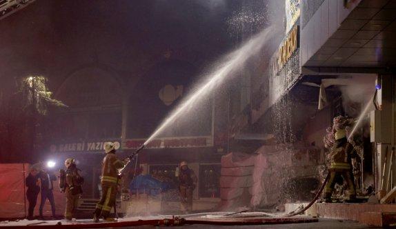 İSTOÇ Ticaret Merkezi'ndeki yangın söndürüldü