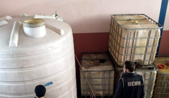 Kocaeli'de 14 ton 500 litre kaçak akaryakıt ele geçirildi