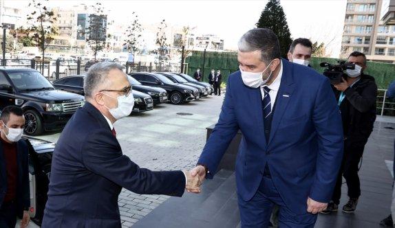 TCMB Başkanı Ağbal'dan MÜSİAD'a ziyaret