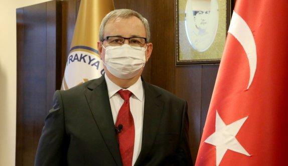 Trakya Üniversitesi Rektörü Tabakoğlu'ndan