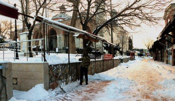 Trakya'da kar yağışı etkisini kaybetti