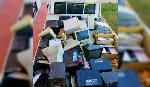 Uzunköprü Belediyesi bir yılda 4 tondan fazla elektronik atık topladığı yarışmada birinci oldu