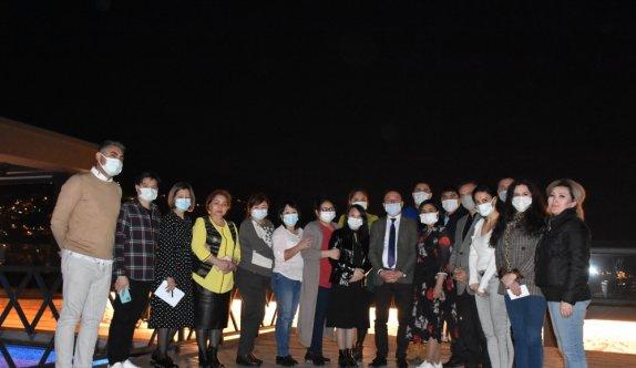 AK Parti Bursa Milletvekili Atilla Ödünç, Kazakistanlı ve Kırgızistanlı gazetecilerle buluştu
