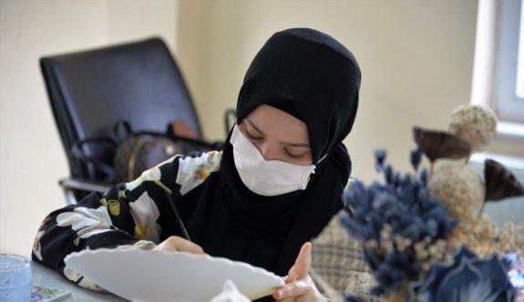 Bilecikli ev kadınları salgın döneminde meslek edindirme kurslarına yöneldi