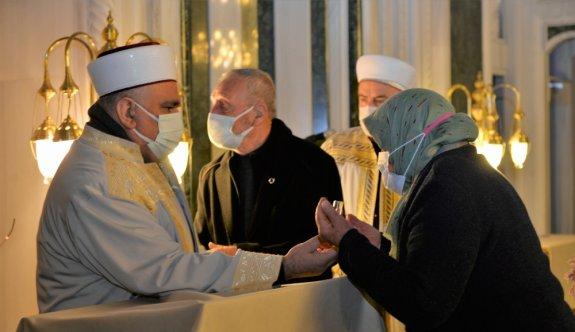 Bilecik'te Berat Kandili dualarla idrak edildi