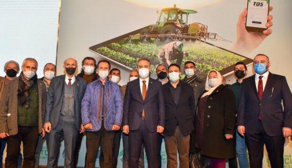 Bursa Büyükşehir Belediyesi, 3 yıl içinde 5 milyon meyve fidanını toprakla buluşturacak