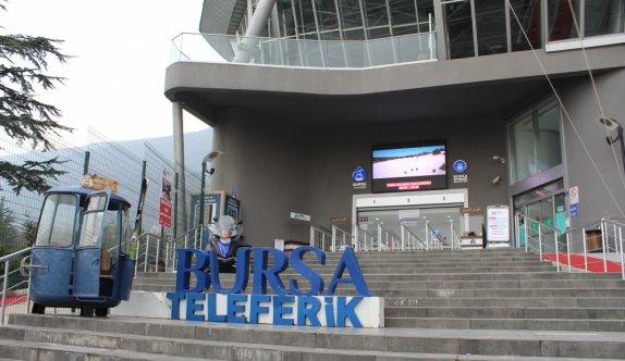 Bursa'da teleferik kabinleri her kullanım öncesi ve sonrası dezenfekte ediliyor