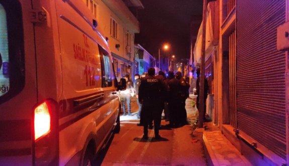 Bursa'da uygulama yapan bekçi ekibine çarpan sürücü kaçtı