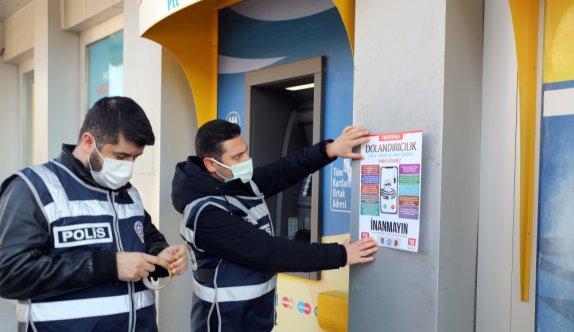 Edirne'de polis vatandaşları dolandırıcılara karşı uyardı