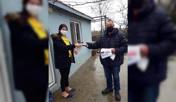 Edirne'de vaka sayılarının artmasında etken olan ev ziyaretlerini önleme çalışmaları yapılıyor