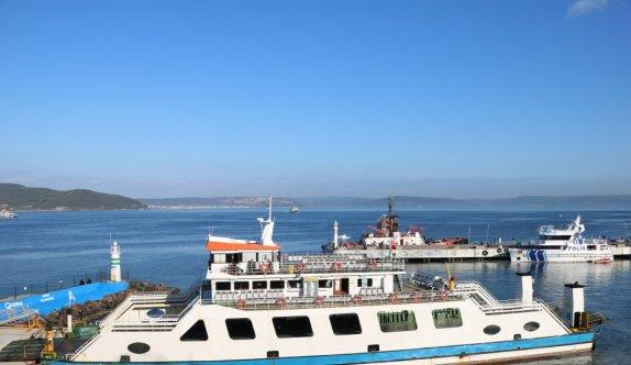 GÜNCELLEME - Çanakkale Boğazı yoğun sisin etkisini yitirmesiyle çift yönlü transit gemi geçişlerine açıldı