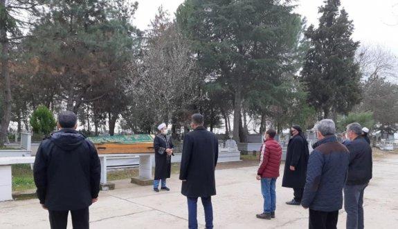 Salgınla mücadelede kapsamında Selimiye Camisi'nde denetim yapıldı
